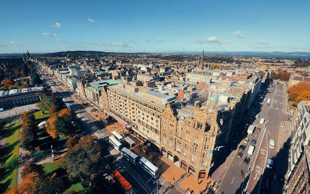 Edinburgh voted best budget city for students to live in the UK