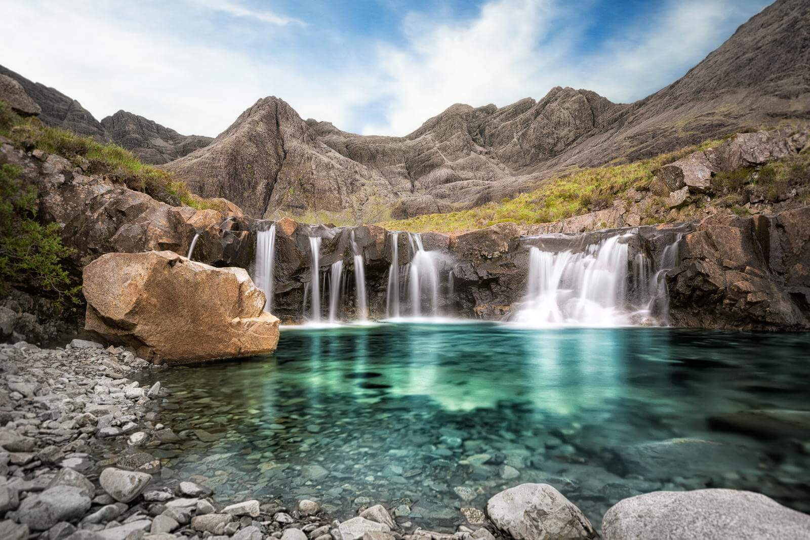 inlingua edinburgh - fairy pools - isle of skye