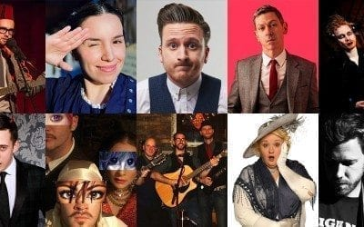 Our selection of 10 Free Shows to enjoy The Edinburgh Fringe Festival!