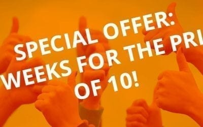 Special Offer: 12 Weeks For the Price of 10!