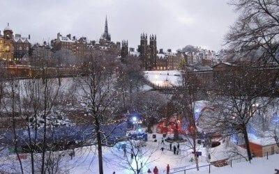 10 Festive Things to Do in Edinburgh This Christmas