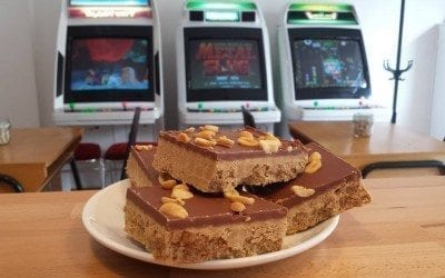 Konbo, Edinburgh's first arcade café has opened!