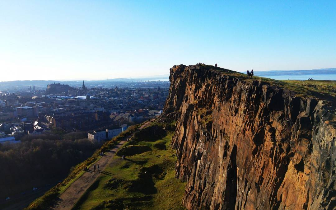 Experience a proper hill walk on an ancient volcano in the heart of Edinburgh!