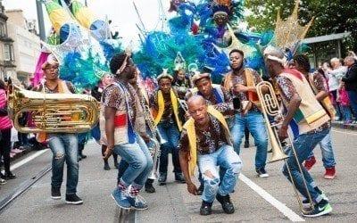 Edinburgh Jazz Festival Carnival Parade [Sunday 16th July 2017]