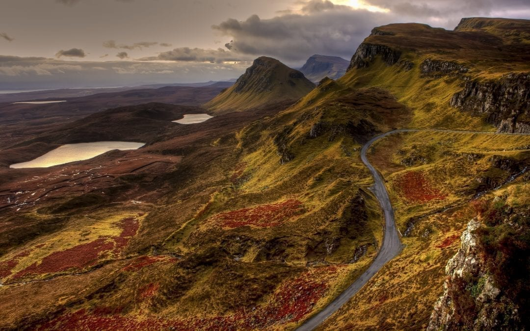 This is the Scottish Highlands: take a road trip with us.