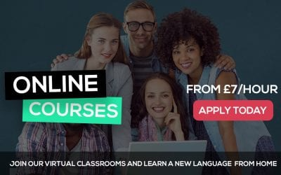 New Evening Term for Languages Starting April 2020