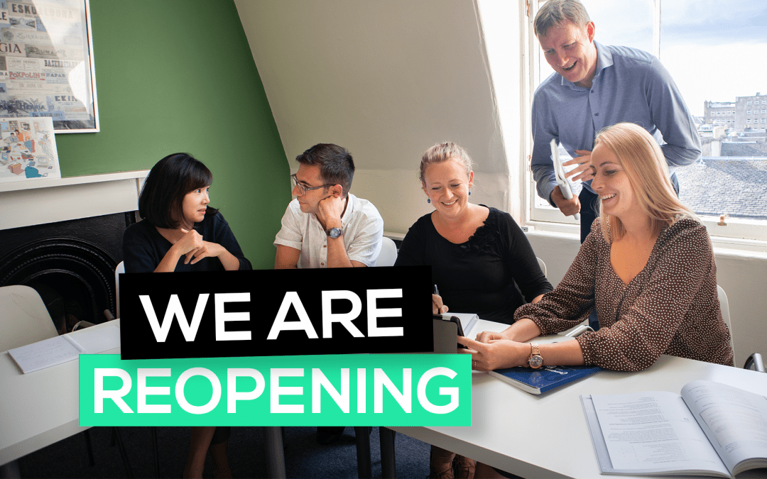 COVID UPDATE: We are reopening as of 31st August!
