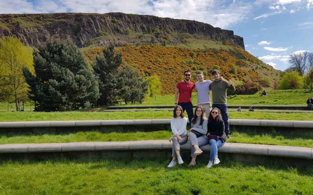 Edinburgh's volcanic roots